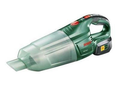 odkurzacz ręczny bezprzewodowy (akumulatorowy) marki Bosch, model bezworkowy
