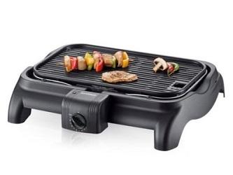 otwarty elektryczny grill stołowy