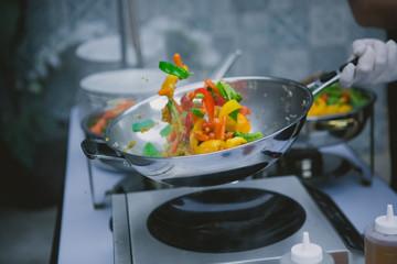 wok do kuchni