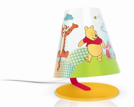 lampa biurkowa marki Philips Kubuś Puchatek