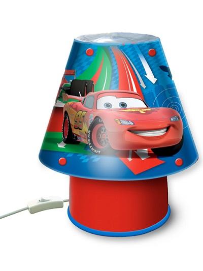 lampka nocna dla dzieci Disney Cars 2