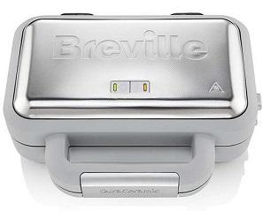 gofrownica Breville DuraCeramic VST072, z płytkami ceramicznymi