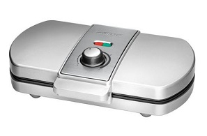 gofrownica Clatronic WA 3607 ze stalowymi wkładkami i wbudowanym termostatem