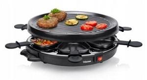 elektryczny grill stołowy raclette 2w1