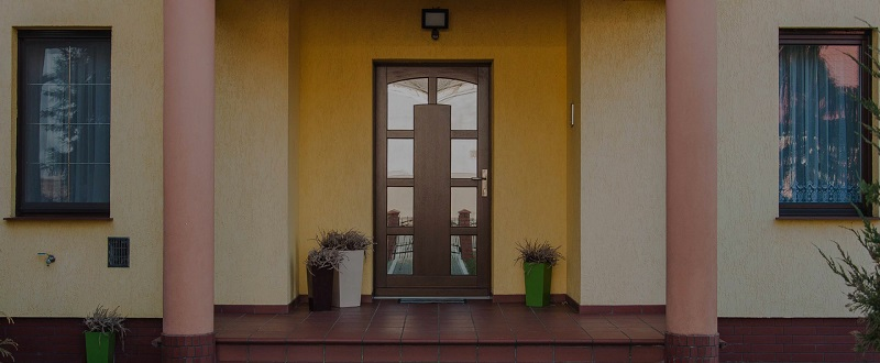 drzwi zewnętrzne wejściowe