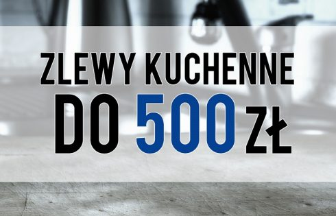 Zlewy kuchenne do 500 zł: co mamy do wyboru w niedużym budżecie?