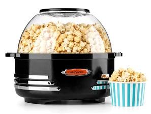 maszyna do popcornu OneConcept SHU2-Couchpotato-B, o mocy 1000 W i pojemności do 5,2 litra na jeden wsad