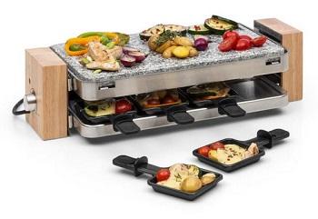 grill raclette Klarstein GQ6 Prime Rib o mocy 1500W